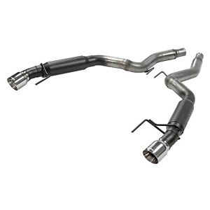Flowmaster Outlaw Series Axle Back Exhaust For 2015 2020 Ford Mustang 2 3l 3 7l