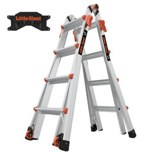 Little Giant Lt M17 Ladder With Storage Rack 24 In 1 Multi use s15