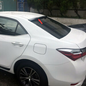 Painted Color For Toyota Corolla Altis 11th Sedan V Style Rear Roof Spoiler 2018