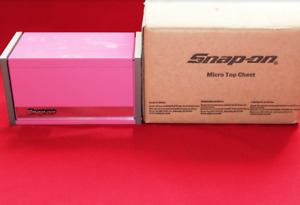 Snap On Pink Mini Micro Top Chest Tool Box Brand New