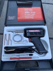 Weller 8200 n Soldering Iron Gun 140 100w Carrying Case And All Accesories