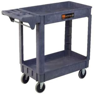 Wen 500 pound Capacity 40 By 17 inch Service Utility Cart