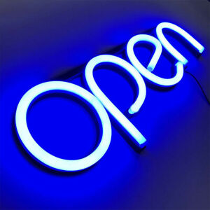 Ultra Bright Open Led Wall Artwork Visual Bar Sign Lamp Neon Light Decorative