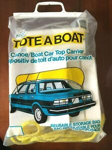 Vintage Tote A Boat Canoe boat Car Top Carrier