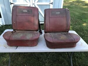 1963 1964 1965 Corvair Chevelle Gto Bucket Seats