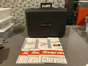 Snap on Solus Solus Pro Replacement Case W Manuals