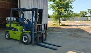 2013 Clark 8000 Lb C40l Capacity Lpg Forklift Side Shift