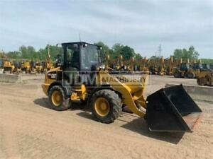 2018 Caterpillar 908m Cab Heat Air Wheel Loader Cat 908