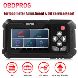 Obdprog M500 Odometer Mileage Adjustment Obd2 Scanner Oil Reset Diagnostic Tool