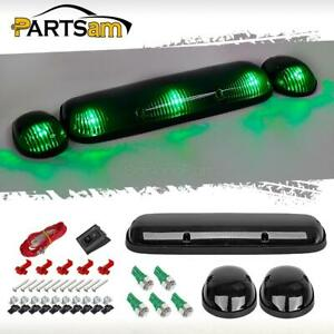 3xsmoke Cab Roof Top Clearance Lights 158 5050 Green Led For Chevrolet Gmc 02 07
