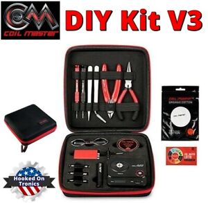 100 Authentic Coil Master Diy Kit V3 Is The Perfect All In One Kit Usa Seller