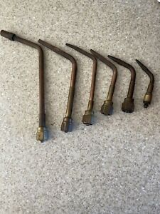 Victor Welding Torch Tips Lot Of 6