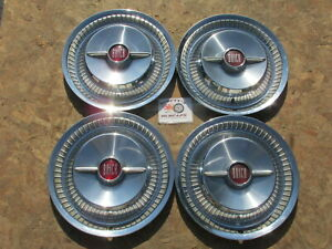 1955 Buick Roadmaster Super Special Century 15 Spinner Wheel Covers Hubcaps