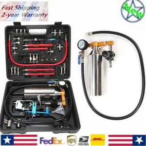Non Dismantle Auto Fuel System Injector Cleaner Tester For Petrol Efi Throttle