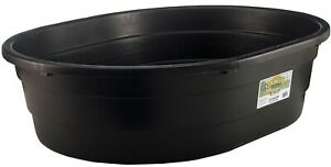 15 Gallon Oval Stock Tank Goat Sheep Pig Horse Cattle Chick Brooder Water Trough