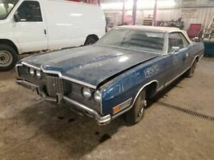 Front Bumper Assembly With Brackets Fits 1971 Ford Ltd 685364