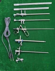 Hysteroscopy Instruments Set Working Element Passive Bipolar Resectoscope