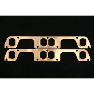 Sce Gaskets 4511 Pro Copper Header Gaskets For Small Block Chevy New