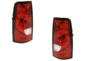 Tail Lights For Chevy Silverado Truck 2004 2005 2006 Pair 2007 Classic
