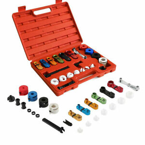 22pcs Deluxe Ac Fuel Transmission Line Disconnect Tools Kit Set For Ford Gm Good