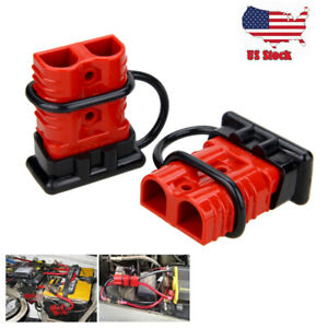 2x 175a Battery Quick Connect Wire Harness Plug Disconnect Winch Connector Kit