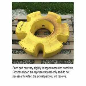 Used Rear Wheel Inner Weight Compatible With John Deere 4455 7720 8430 9400