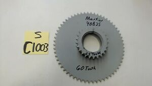 Martin 40b25 Double Sprocket 60 Tooth 25 Tooth