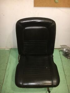 1965 1966 1967 Mustang Bucket Seat Passenger Side Nice With Tracks Can Ship