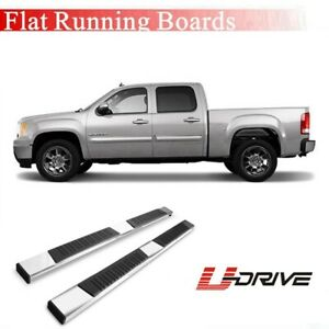 6 Aluminium For 2015 2020 Gmc Canyon Crew Cab Side Steps Running Boards