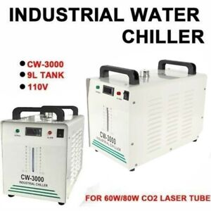 Industrial Water Chiller For Co2 Glass Laser Engraver Engraving Machine Cw 3000