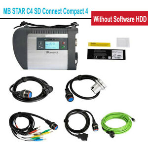 Mb Sd C4 Connect Compact 4 Star Diagnosis For Cars Trucks Without Software Hdd