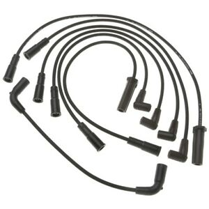 9746v Ac Delco Set Of 6 Spark Plug Wires New For Chevy Olds Cutlass Grand Prix