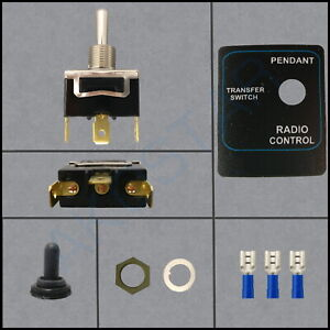 Transfer Switch Kit 1 pole Isolation For Radio Remote Controls Pendants 1 Pole