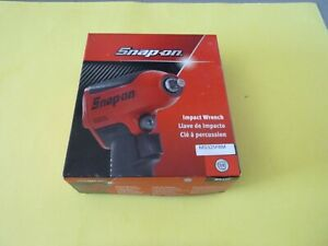 New Snap On 3 8 Drive Air Impact Wrench Flat Black Color Mg325fbm