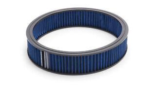 Edelbrock 43667 Air Filter Blue