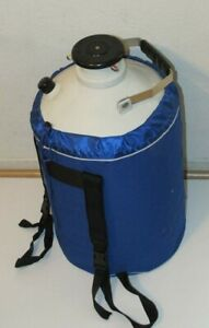 3l Liquid Nitrogen Ln2 Storage Tank Container Cryo With Cover And Strap U s