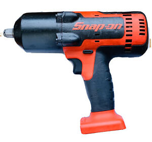 Snap on Ct8850 1 2 Cordless 18v Lithium Impact Wrench Full Of Power tools Only