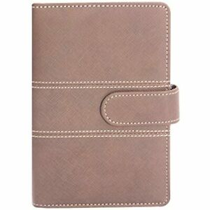 Labon 39s A5 Filofax With Button 6 Round Ring Binder Planner Refills Has Monthly