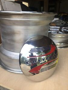 Set Of 4 Wheel Solid Chrome Hot Rod 15 X 12 15 X 5 Brand New Save