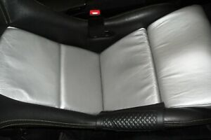 Porsche Gt3 Seat Silver Leather Aftermarket Cushions Inserts