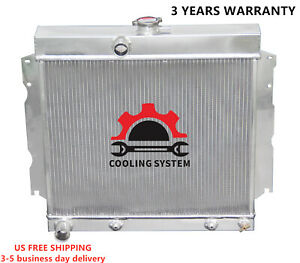 Radiator Fit Dodge 65 69 Coronet Charger 65 66 Dart 63 67 Station Wagon 3 Rows