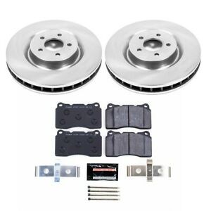 Tdbk4547 Powerstop 2 wheel Set Brake Disc And Pad Kits Front New For Mustang