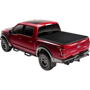 1545916 Truxedo Tonneau Cover New For Ram Truck Aluminum With Woven Fabric Top