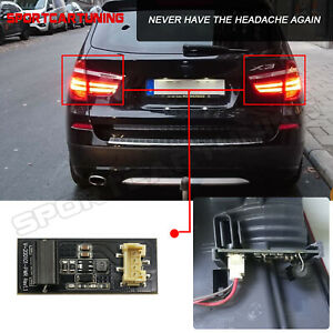 For 2010 2017 Bmw X3 F25 Led Tail Light Driver B003809 2 Board Chip Replacement
