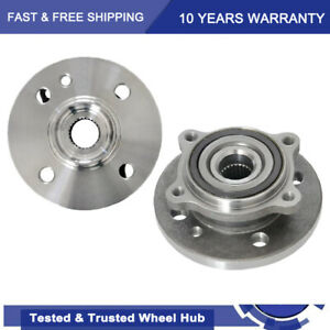 New Set Of 2 Wheel Hubs Front Driver Passenger Side Lh Rh For Mini Cooper Pair