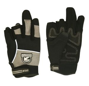 Gatorback 633 m Duragrip Fingerless Professional Work Gloves By Contractor Pro M