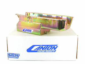 Canton 15 200t Small Block Chevy Early Corvette Oil Pan 1 Piece Seal Blemished