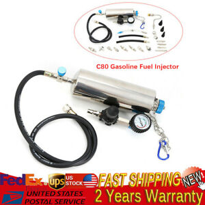 120psi Non dismantle Injector Cleaner Tester Fuel System For Petrol Car
