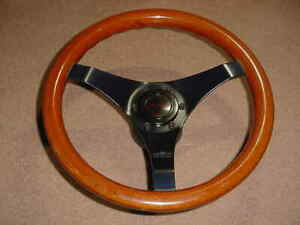 Bmw Nardi Personal Wood Steering Wheel 13 1600 2002 Dated March 1978 Alfa Vw