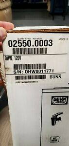 Bunn o matic 025500003 Still In Original Box Unopened Pourover And Low Volume H